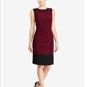 Ralph Lauren Color Block Jersey Dress